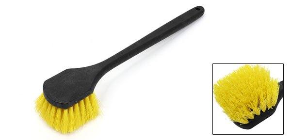 Uxcell черный Пластик Нескользящая ручка автомобильных шин Тематические товары про рептилий и земноводных Кисточки 50 см длинные