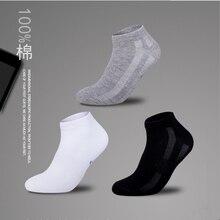 3pairs/Lot summer 2019 Men socks ankle cotton bussiness corap skarpetki meskie chaussette homme white sockken thin hosiery