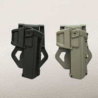 ניו Arrivel טקטית חגורת נרתיק גלוק Airsoft QD יד ימין אקדח אקדח נרתיק לגלוק 17 19 צבא השחור שיזוף ירוק