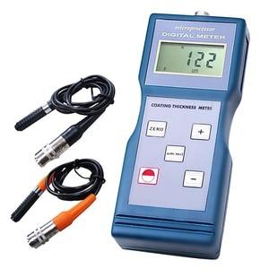 Image 1 - Medidor de espesor portátil de revestimiento de pintura Digital 0 1000um/0 40mil Medidor de rango Ferro F/sondas NF no féricas 1000 micro unidad