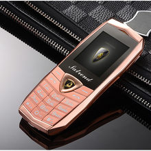 Luksusowy metalowy korpus A18 wibracje Logo na samochód podwójne karty Sim Mp3 Mp4 telefony komórkowe z bezpłatnym skórzanym etui Kuh