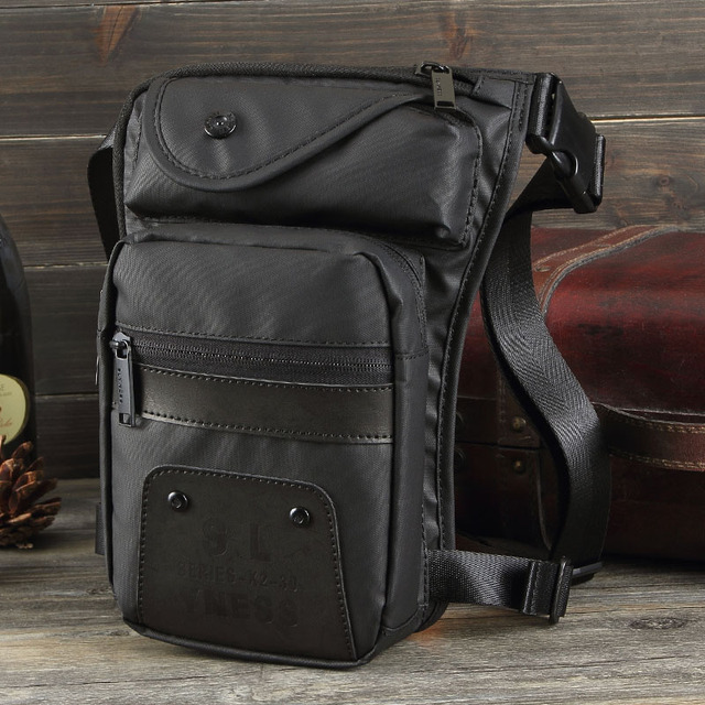 caae5884cc Men Oxford Men Hip Waist Leg Bag waterproof Drop Fanny Pack Military  Motorcycle Rider Travel Mens Messenger Shoulder Bags