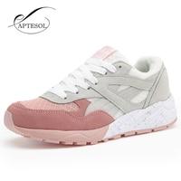 APTESOL Air Mesh Zapatos de Correr Para Mujeres Deporte Al Aire Libre Atlético Zapatos Que Caminan Las Zapatillas Para Correr Transpirable Ligero Suave