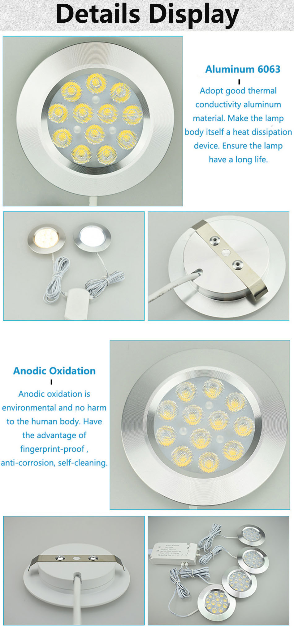 3W under cabinet lamp 2
