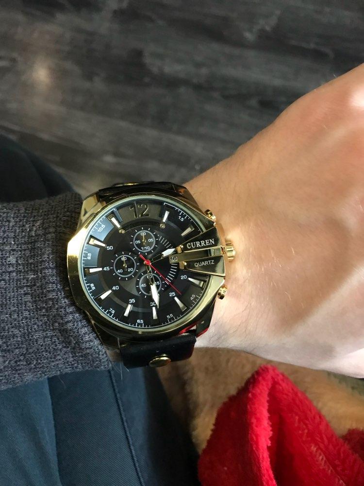 Ссылке), решила приобрести там же и часы curren original.