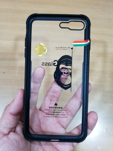 Funda Antigolpes de Vidrio Templado Reforzado para iPhone photo review
