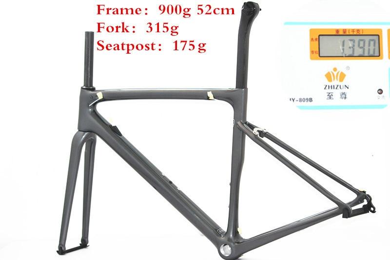 Factory Super Light 900g Carbon Frame Road Bike Racing Road Bicycle Carbon Frame Carbon Road Bike Frames China OEM Set Bicycle