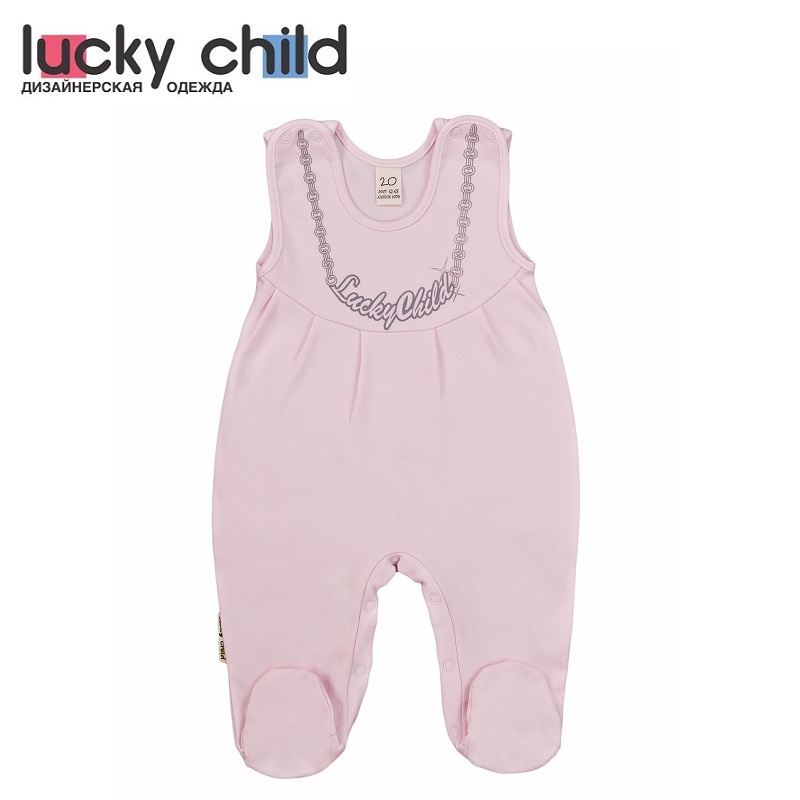Rompers Lucky Child for girls 2-14 Lady Children clothes kids clothes rompers lucky child kid clothes