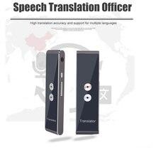 Многоязычный портативный умный голосовой переводчик беспроводной