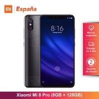 Глобальная версия для Испании] Xiaomi Mi 8 Pro (Memoria interna de 128 GB, ram de 8 GB, Pantalla AMOLED de 6,21 ) Movil