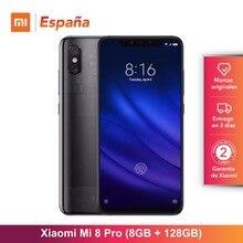 Глобальная версия для Испании] Xiaomi Mi 8 Pro (Memoria interna de 128 GB, ram de 8 GB, Pantalla AMOLED de 6,21 «)