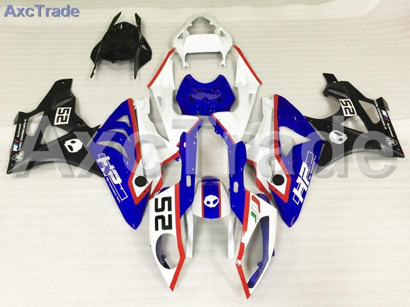 Мотоцикл Обтекатели для BMW S1000RR С1000 2009 2010 2011 09 10 11 ABS пластичная впрыска Обтекателя кузова комплект белый синий A462