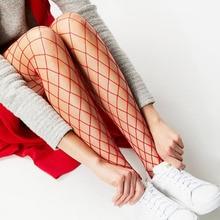 2018 Feminine fashion meshnet women tights summer big mesh Pantyhose girls fish net stockings sexy women tights collant noir star decorated net tights