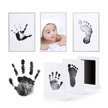 Нетоксичный детский отпечаток пальца комплект Memento чернила для новорожденных Фото наборы винтов детский сувенир безчернильный отпечаток руки литье отпечаток грязи