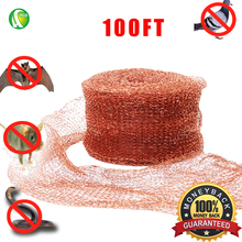 PCO Copper Mesh Rat Rodent Control, Pest Control,100%Copper, 30Meters (100ft)
