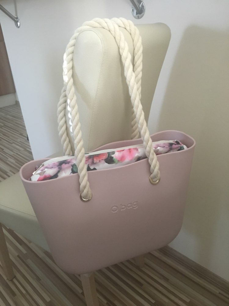 75cm 1 Pair Mini Obag Rope Handle Strap Italy Style For Women Obag Handles Bag Accessories Removable Matching With Lnner Bag photo review