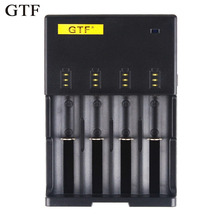 Authentic GTF lithium battery slot multi-function charger, 18650, 26650, 14500 charger