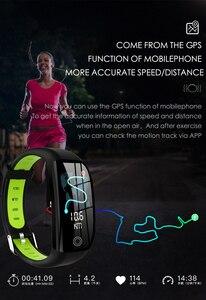 Image 3 - Accalia Smart fitness watch heart rate blood pressure fitness bracelet man watch tracker large screen