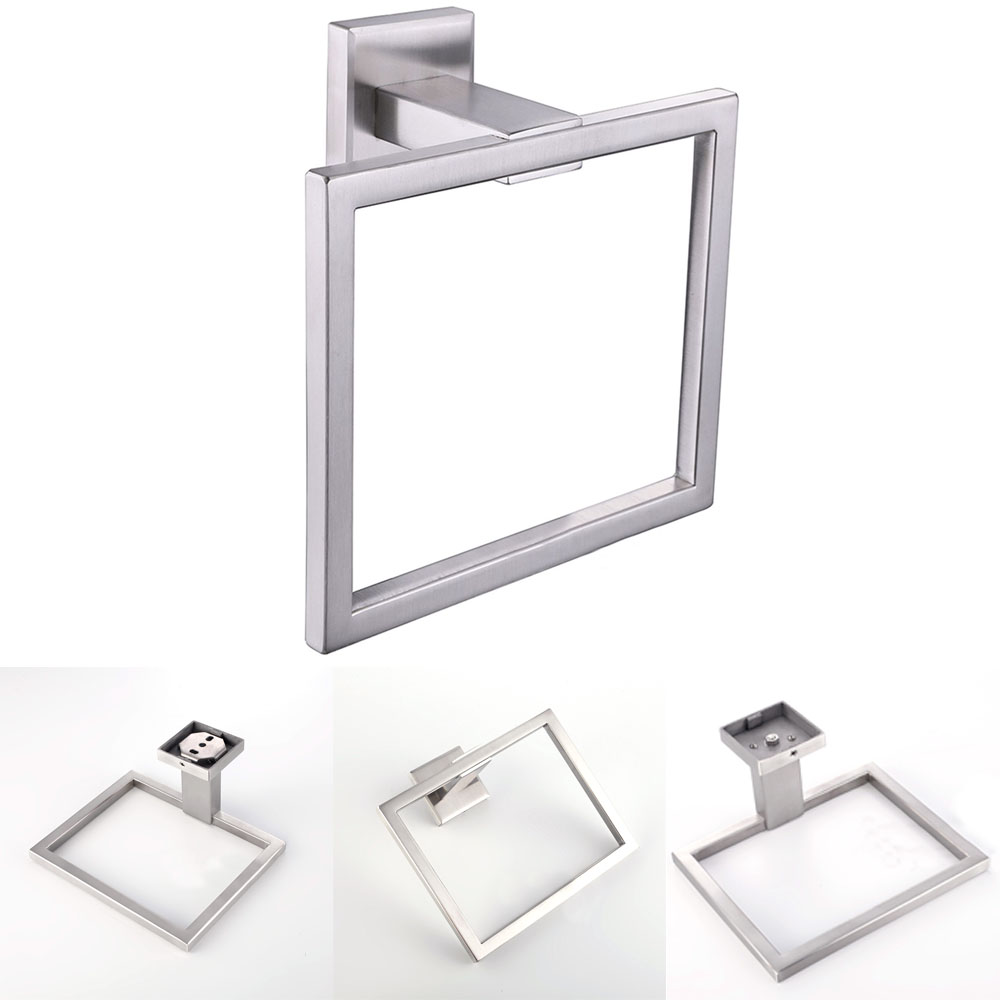 304 Stainless Steel Modern Bathroom Accessories Wall Mounted