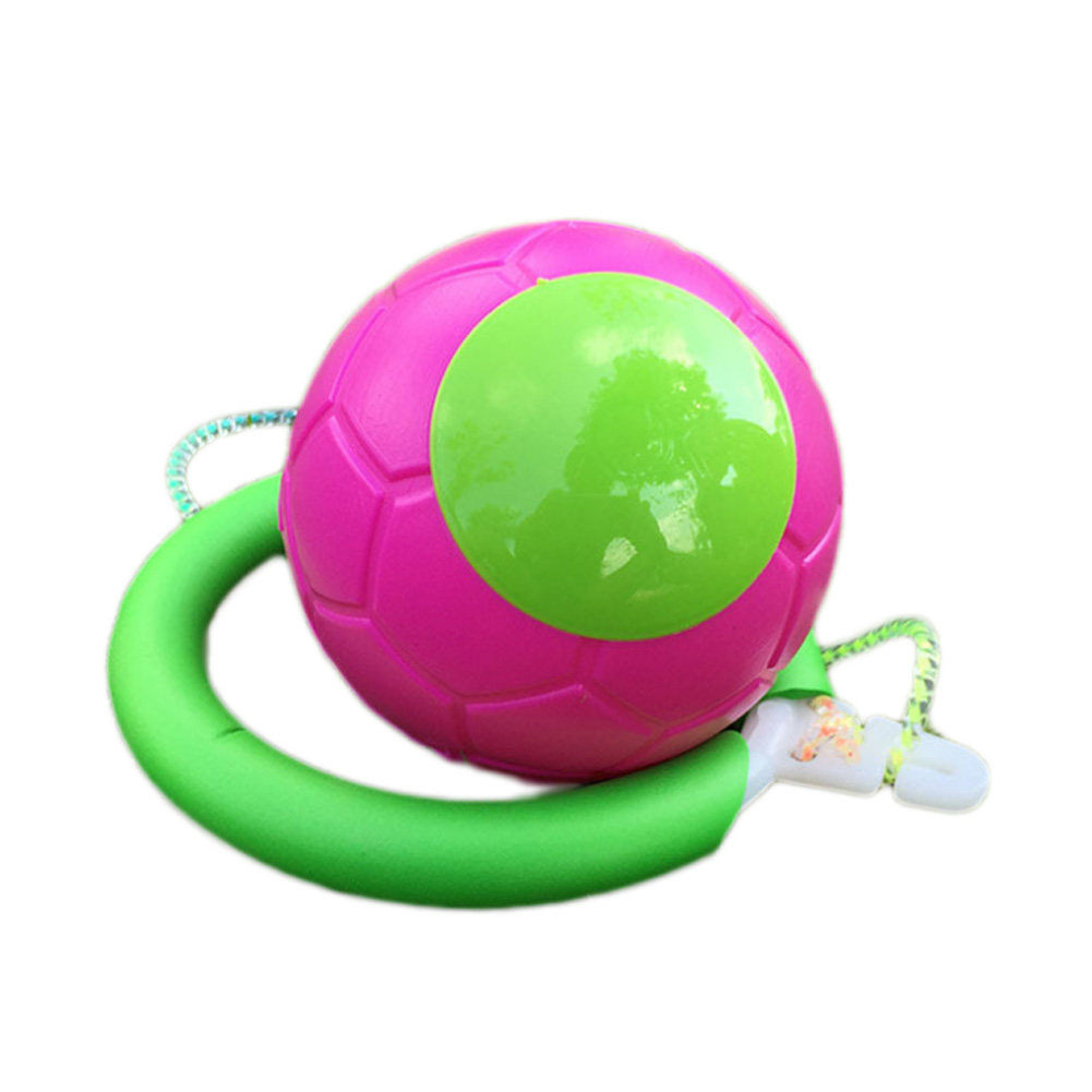 2017 Skip Ball Outdoor Fun Toy Balls Classical Skipping Toy Fitness Equipment Toy New Hot Color Random