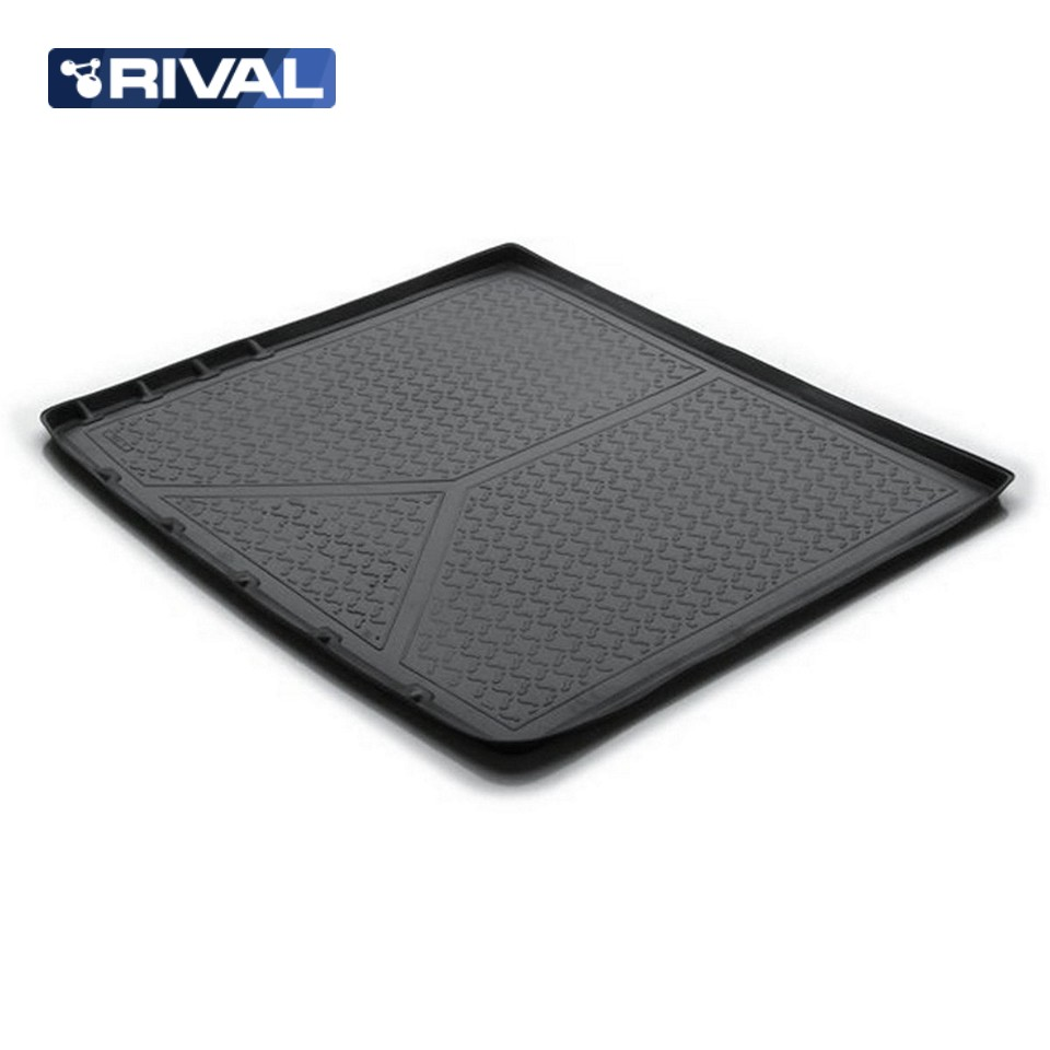 For Nissan Terrano 4WD 2014-2019 trunk mat Rival 14108004 for datsun mido 2014 2019 trunk mat rival 18701002