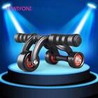 ✔  FEWIYONI 3 круглых фитнес-ролика AB с накладкой интеллектуальный редуктор на животе ABS тренировка C ①