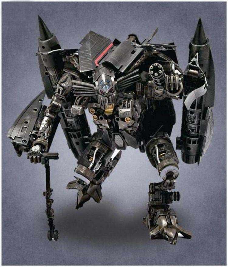 Filme transformação 2 Revenge Of the Fallen Jetfire Skyfire GOD01 Líder Japão Revestimento de Metal Edição Action Figure Brinquedos Robô