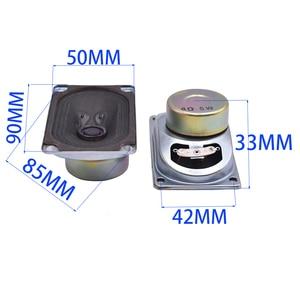 Image 5 - Tenghong 2 pcs 5090 TV Speaker 8Ohm 5 W Audio Draagbare Luidsprekers Full Range Luidspreker Computer Luidspreker Voor Thuis theater DIY