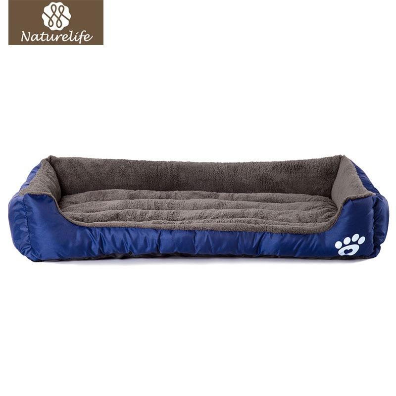 Canastas de perro suaves para perros calientes Naturelife usadas para la perrera cálida de otoño e invierno para gatos cachorros tallas grandes Envío Directo