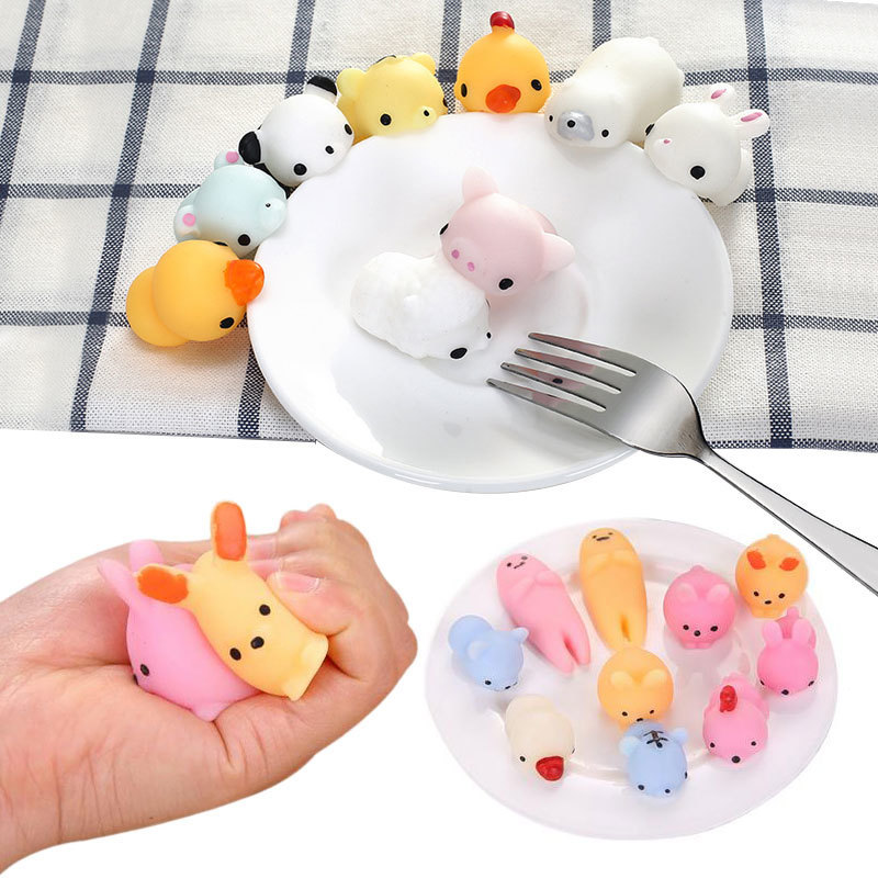 Soft Squishy Decompression Toys Children Adults Relief Stress Antistress Toys