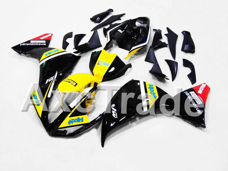 Motorcycle Fairings For Yamaha YZF R1 1000 YZF-R1 YZF-R1000 2009 2010 2011 ABS Plastic Injection Fairing Bodywork Kit BK Yellow