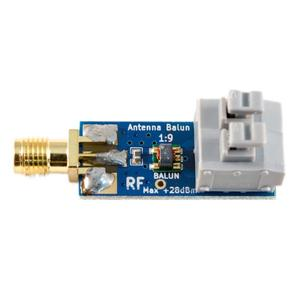 BALanced to UNbalanced BALUN One Nine| Tiny low-cost 9:1 Balun for long wire HF antenna RTL-SDR(with power splitter)(China)
