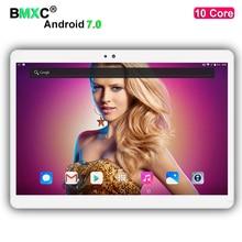 Envío libre de DHL 10 pulgadas 10 Core Tablet PC Android 7.0 4 GB RAM 64 GB/128 GB ROM 1920*1200 IPS Pantalla 4G LTE 8.0 MP Cámara tabletas