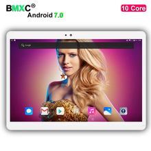 DHL free shipping 10 inch 10 Core Tablet PC Android 7.0 4GB RAM 64GB/128GB ROM 1920*1200 IPS Screen 4G LTE 8.0 MP Camera tablets