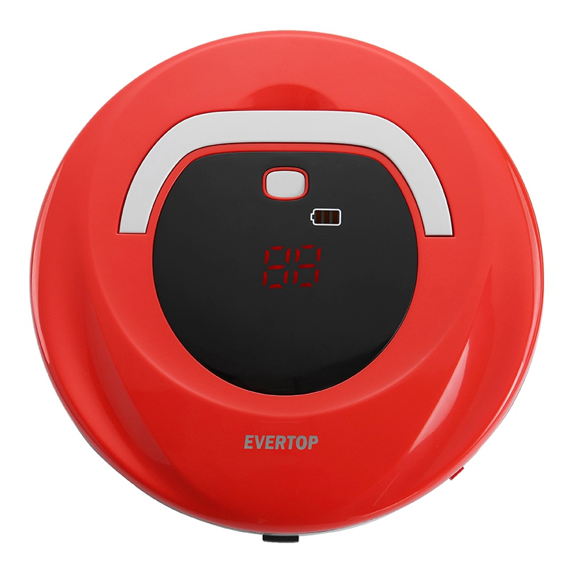 Vacuum Cleaner Robot Wireless Intelligent Sweeper Strong Suction Super Automatic Clean On Home Hard Floor Thin Carpet EU Plug v bot gvr610d intelligent sweeping robot vacuum cleaner home sweep suction automatic wifi wireless one machine