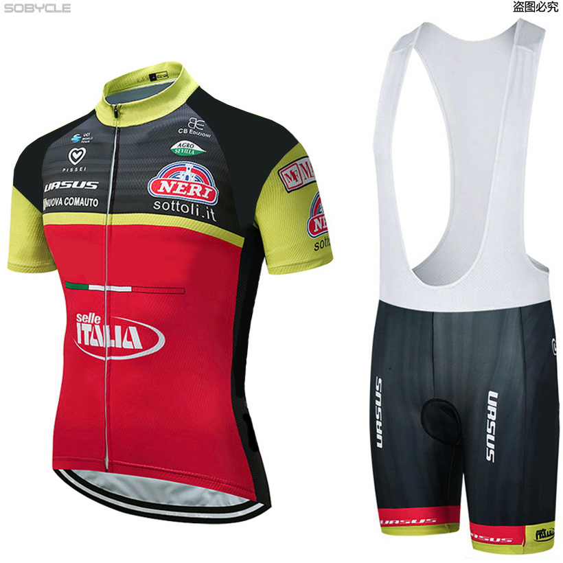2018 ITALIA Cycling team Clothing Bike jersey 9D gel shorts Ropa Ciclismo Quick Dry Mens summer BICYCLING Maillot Culotte set 2018 new team bora cycling jersey bike shorts set ropa ciclismo quick dry mens cycling wear bicycle maillot bib shorts 9d pad