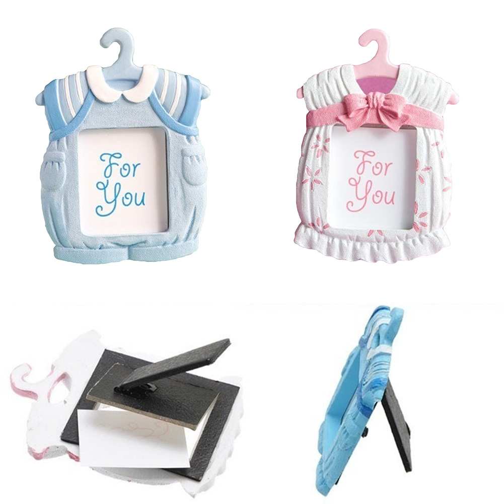 Cute Mini Dress Shape Photo Frame Baby Kids Birthday Synthetic Resin ...