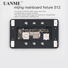 UANME iPX Lock Plate Repair Clamp For iPhone X XS XS-MAX Fixed Platform Maintenance Fixture Upper and Lower Welding of MainBoard