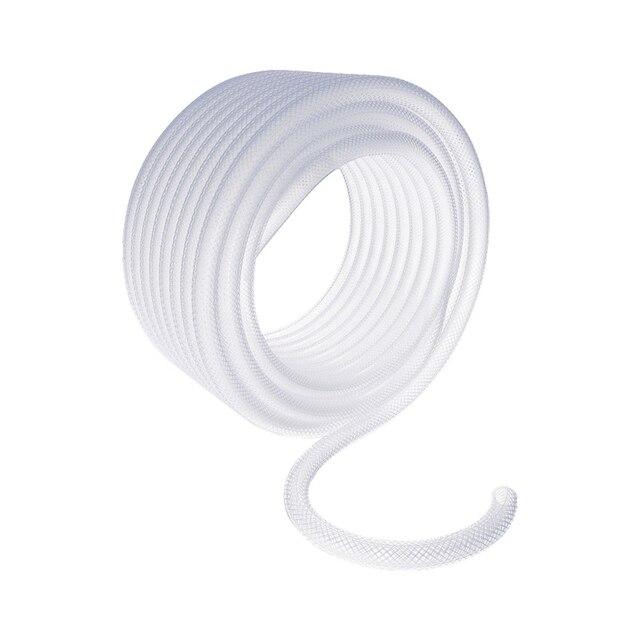Шланг поливочный PALISAD 67427 (Прозрачный, длина 25 м, диаметр 3/4 дюйма, армированный 3-х слойный ПВХ)