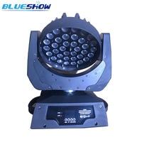 2pcs/lot, Power corn Zoom Moving head wash light LED 36x10W RGBW Quad 4in1 or 36x12w RGBWA 5in1 or 36x15w rgbwauv 6in1