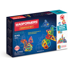 Магнитный конструктор MAGFORMERS Creative 90