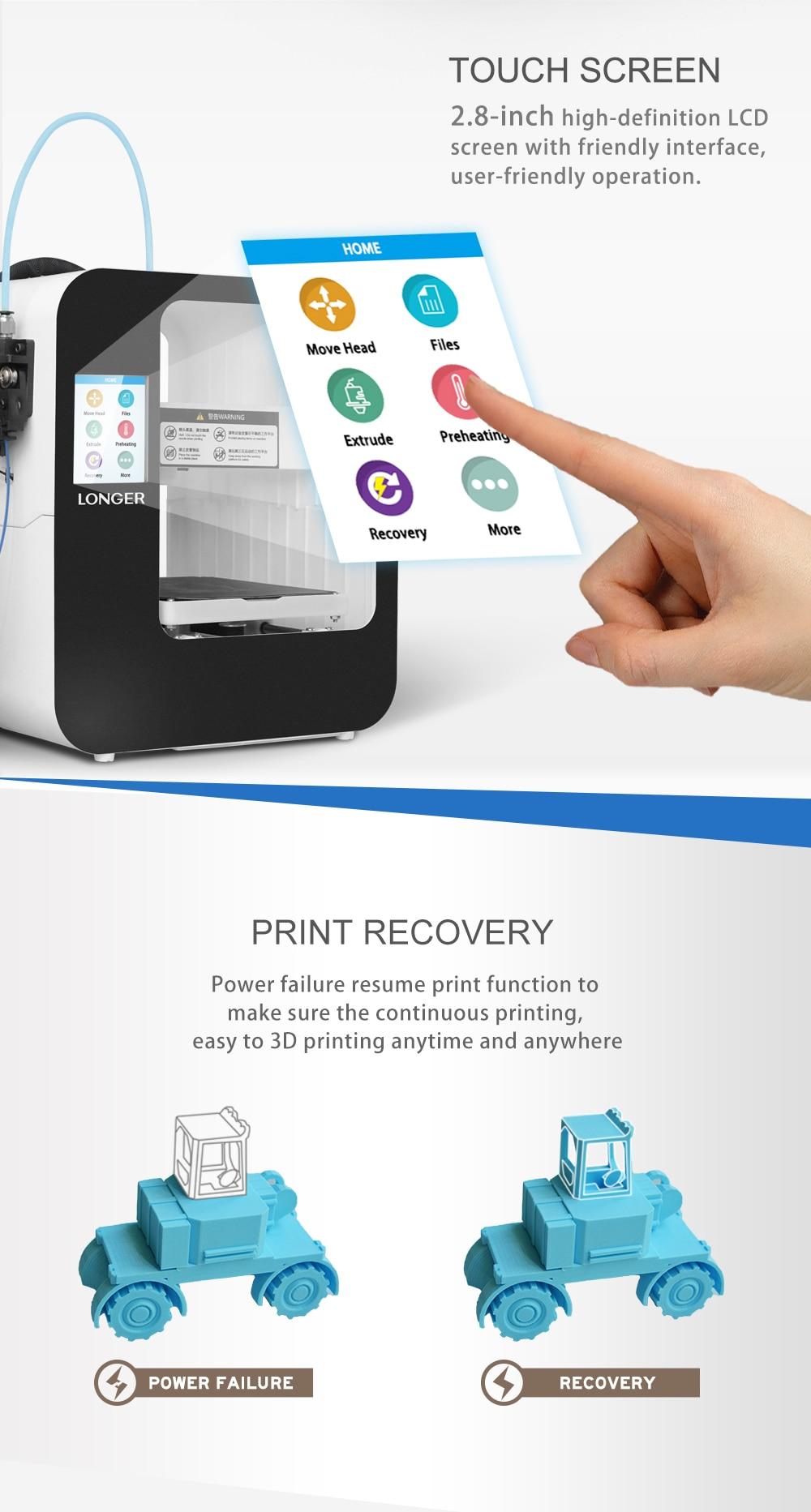 Alt Longer3D Cube2.0 FDM 3D printer-3