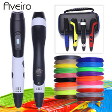 2018 Original Model 3D Printing Pen With 200 Meter 20 Color PLA Filament Plastic Material 3 D Pens Toy For Kids 3d pen 3 d printing drawing pens with lcd screen for doodle model making arts and crafts with 100 meter 1 75mm pla filament