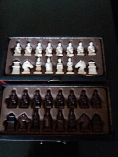 'Terracotta Warriors' Chess Game