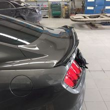 Mustang high quality ABS primer spoiler auto styling For  Ford Mustang 2015 2016 2017 rear trunk wing spoiler for ford mustang spoiler 2015 2016 2017 high hardness and quality abs material rear trunk wing spoiler for ford mustang spoiler