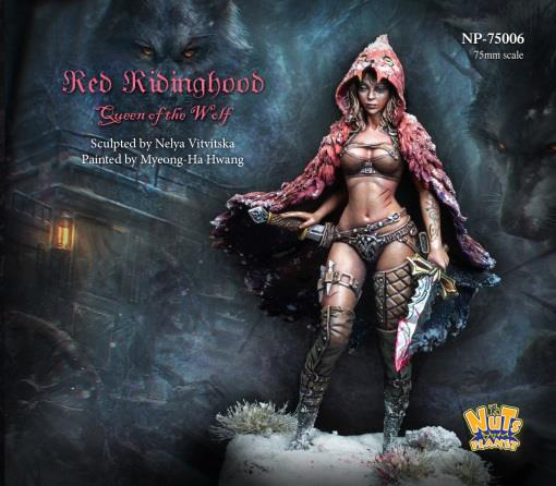US $12 99 |1:24 75mm Resin Figure Model Kit Red Ridinghood Unassambled  Unpainted-in Model Building Kits from Toys & Hobbies on Aliexpress com |