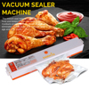 EASEHOLD 220V Household Food Vacuum Sealer Packaging Machine Film Sealer Vacuum Packer Including 15Pcs Bags
