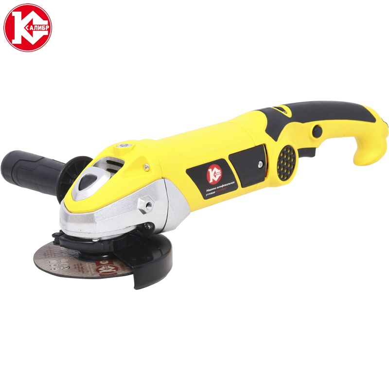 Electric tool Angle grinder Kalibr Master MSHU-125/1200EM, disc 125mm, power 1200W, angular power tool for grinding and cutting talentool 25mm diamond cutting cut off blade wheel disc rotary tool for dremel with 2pcs mandrel