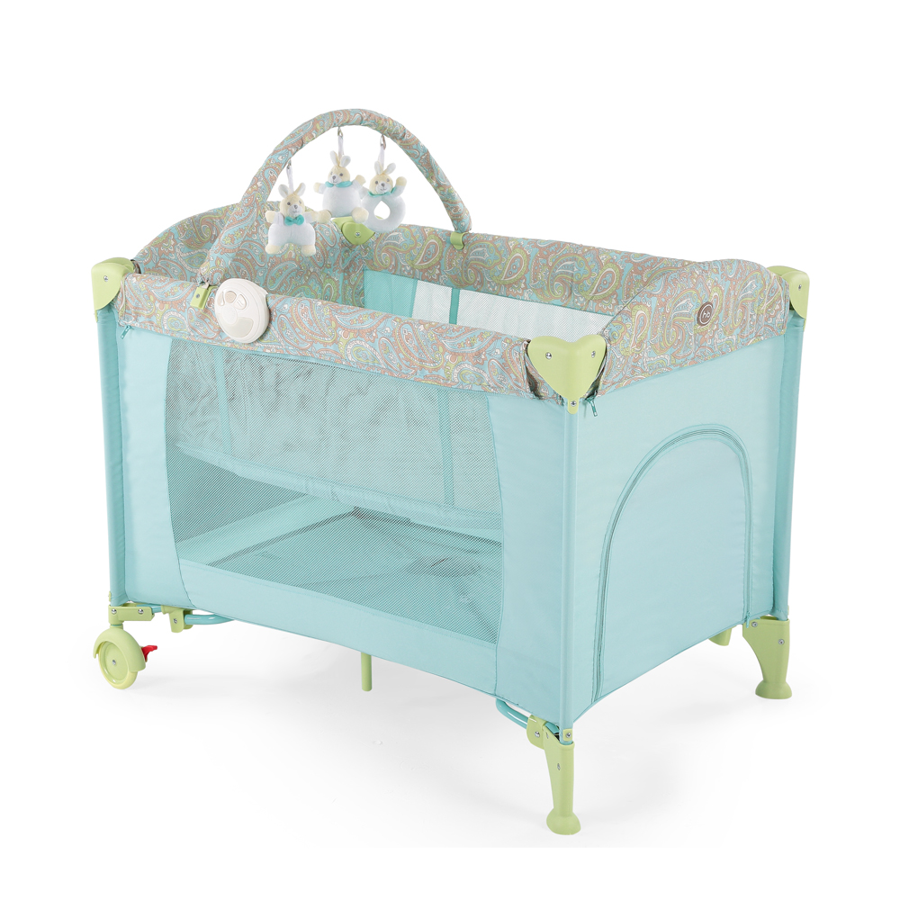 Baby bed-playpen LAGOON V2 from 0 months to 3 years environmental pine wood newborn baby bed playpen wooden bed rocking cradle baby crib comfort swing