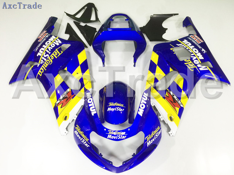 Motorcycle Fairings For Suzuki GSXR GSX-R 600 750 GSXR600 GSXR750 2001 2002 2003 K1 ABS Plastic Injection Fairing Kit Blue A79 lowest price fairing kit for suzuki gsxr 600 750 k4 2004 2005 blue black fairings set gsxr600 gsxr750 04 05 eg12